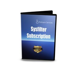 Sysfilter Subscription (1 year / Annual License)