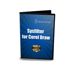 Sysfilter for CorelDraw® Main View