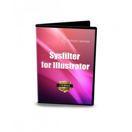 Sysfilter for Illustrator® Main View